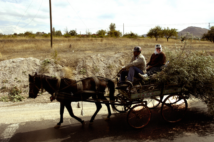 2005-09-25 - Horsedrawn Cart, Turkey