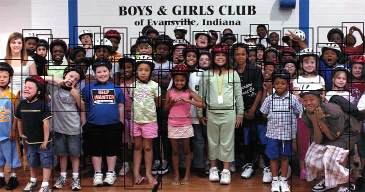 2007-06-05 - Girl Scout Project at Boys & Girls Club, Evansville, IN