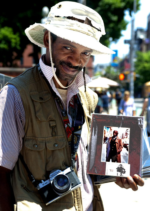 2010-06-18 - Patrick Q F Barr - Street Vendor Who Had Shot Gordon Parks - Printed